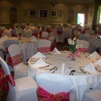 Wood Hall Wedding Decorations