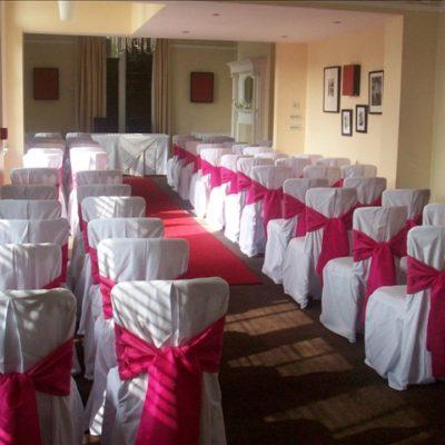 Woodlands Hotel Wedding Decorations