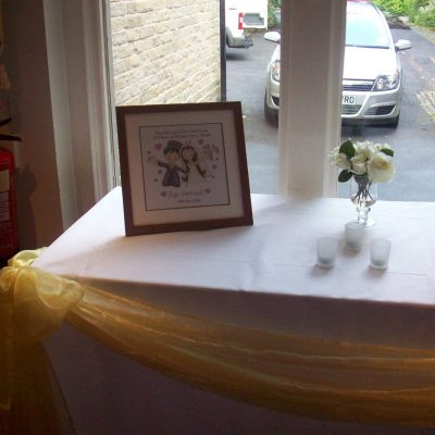 Bagden Hall Wedding Decorations