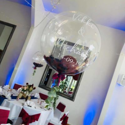 The Vineyard, Holmfirth Wedding Decorations