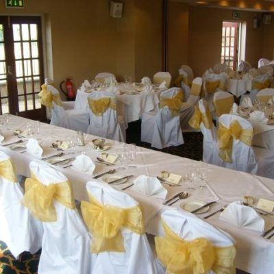 Gomersal Park Hotel Wedding Decorations