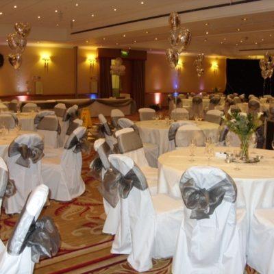 Hilton Hotel, Leeds Wedding Decorations