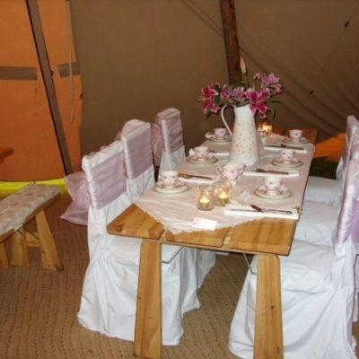 Low Farm, Liversedge Wedding Decorations
