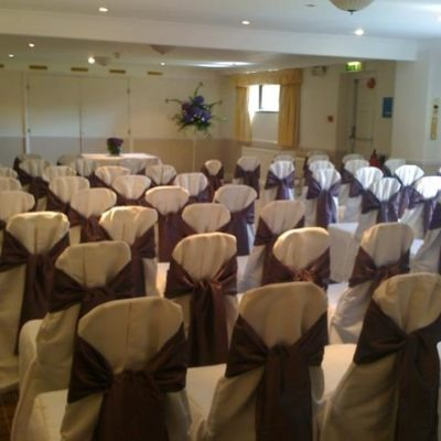 Old Golf House Wedding Decorations