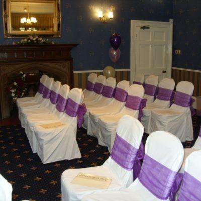 Rogerthorpe Manor Wedding Decorations