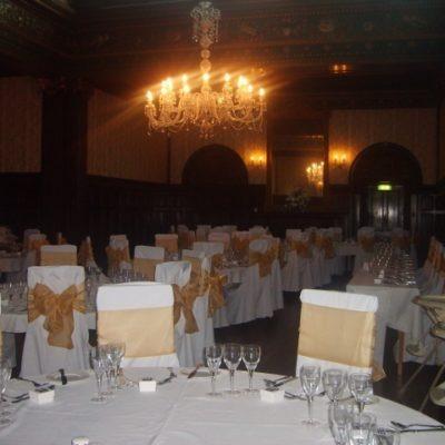Wortley Hall Wedding Decorations