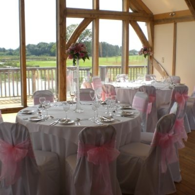 Sandburn Hall Wedding Decorations