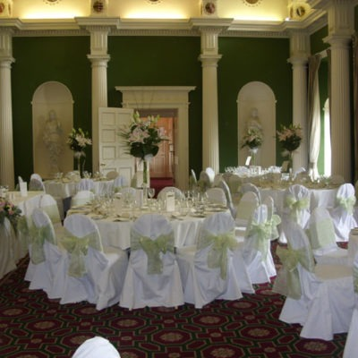 Hazelwood Castle Wedding Decorations