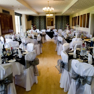 Meltham Golf Club Wedding Decorations
